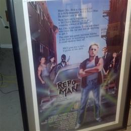 Repo Man original movie poster