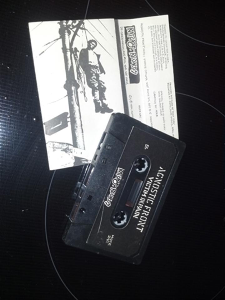 Agnostic Front Victim in Pain Cassette