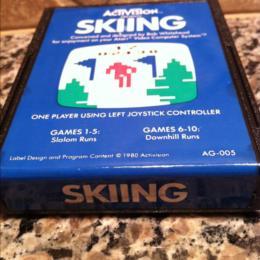Skiing, Activision, 1980