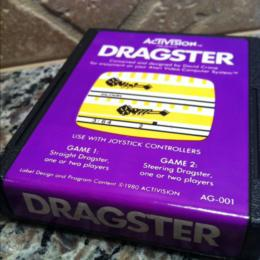 Dragster, Activision, 1980
