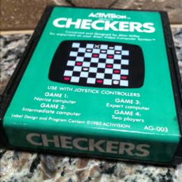 Checkers, Activision, 1981