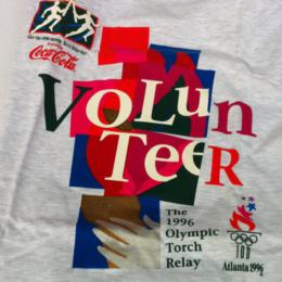 1996 Olympic Torch Relay Volunteer T-shirt