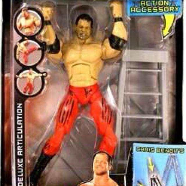 Chris Benoit Deluxe Aggression Series 7