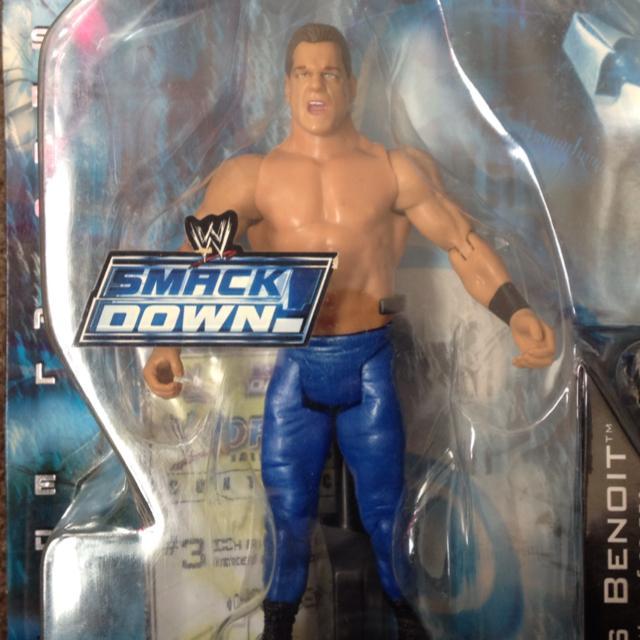 Chris Benoit WWE Draft Smackdown!