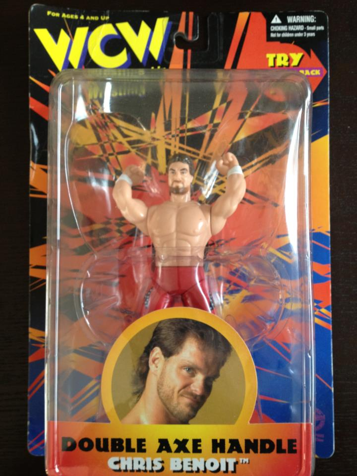 Chris Benoit Double Axe Handle (WCW)