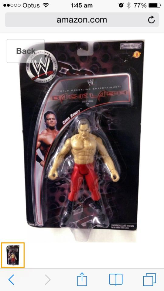 Chris Benoit Backlash Series 7