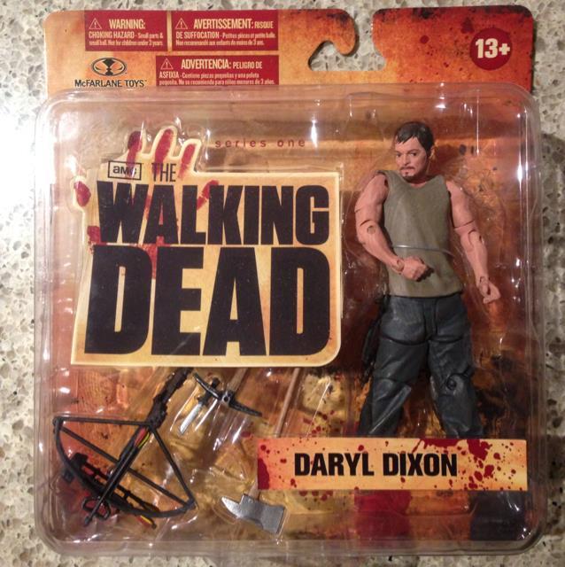 Walking Dead TV Series 1 Action Figure Daryl Dixon