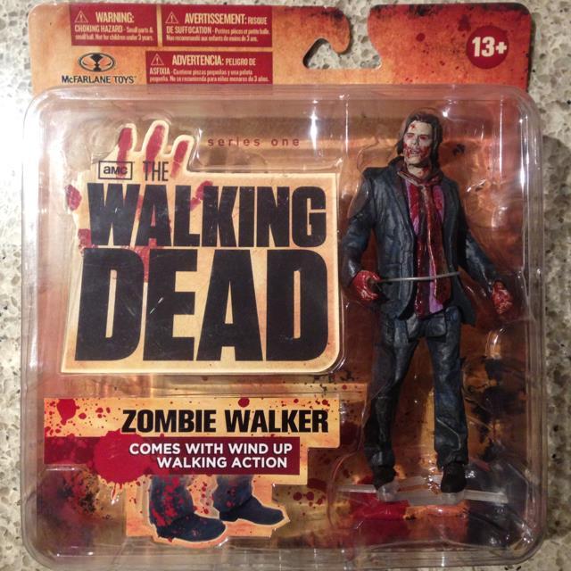 Walking Dead TV Series 1 Action Figure Zombie Walker