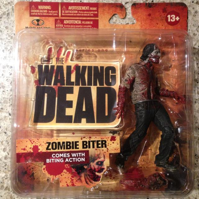 Walking Dead TV Series 1 Action Figure Zombie Biter