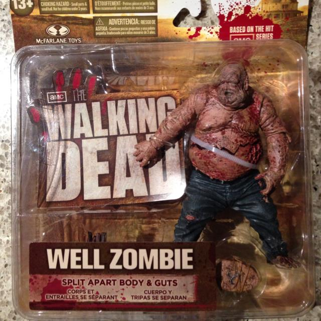 Walking Dead TV Series 2 Action Figure Well Zombie