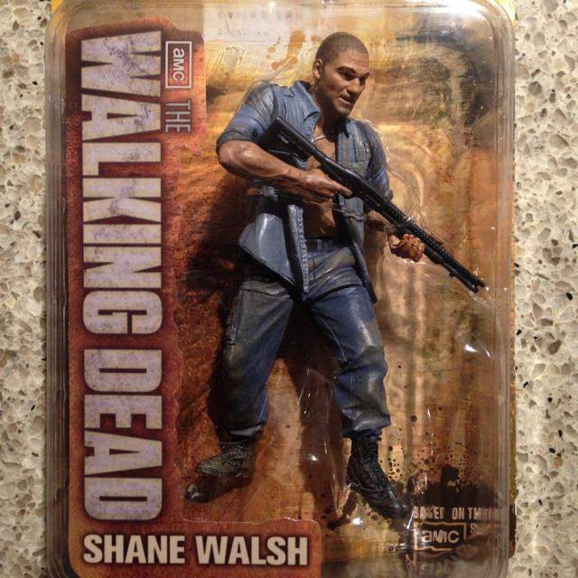 Walking Dead TV Series 2 Action Figure Shane Walsh (Small Card)