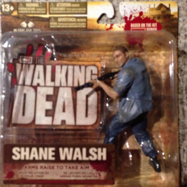 Walking Dead TV Series 2 Action Figure Shane Walsh