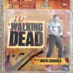 Walking Dead TV Series 1 Action Figure Bloody B&W Deputy Rick Grimes