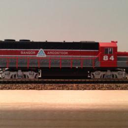 #84 Bangor & Aroostook Locomotive