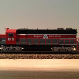 #85 Bangor & Aroostook Locomotive