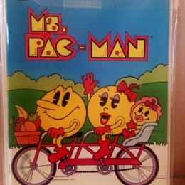 Whitman Ms. Pac-Man Activity Book