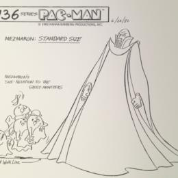 Pac-Man Cartoon: Mezmaron & Ghost Monsters Standard Size sketch
