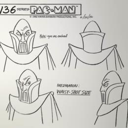 Pac-Man Cartoon: Mezmaron Waist-Shot Size sketch