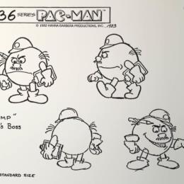 Pac-Man Cartoon: Grump (Pac-Man's Boss) sketch