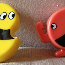 Pac-Man & Ghost Monster magnets