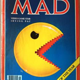'Mad Magazine' #233 with Pac-Man on cover