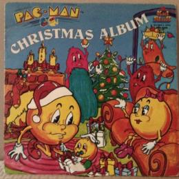 Pac-Man Christmas Album in the original sleeve by Kid Stuff