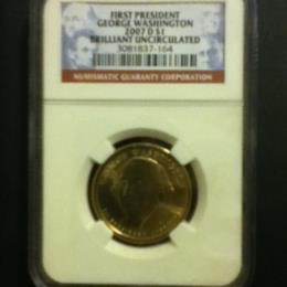 George Washington Gold Dollar
