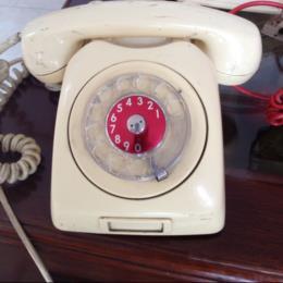 Vintage Ivory Telephone