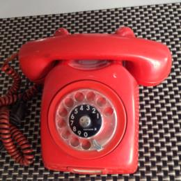 Vintage Ericsson Red Cherry Telephone