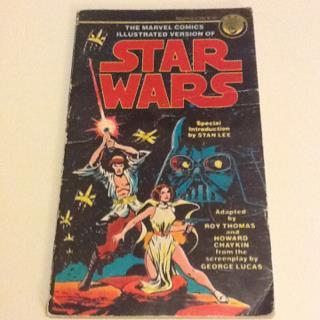 Star Wars Comic Adaptation Paperback