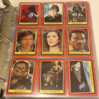 Topps Jedi Trading cards
