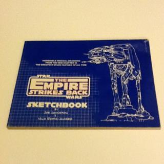 Empire Strikes Back Sketchbook