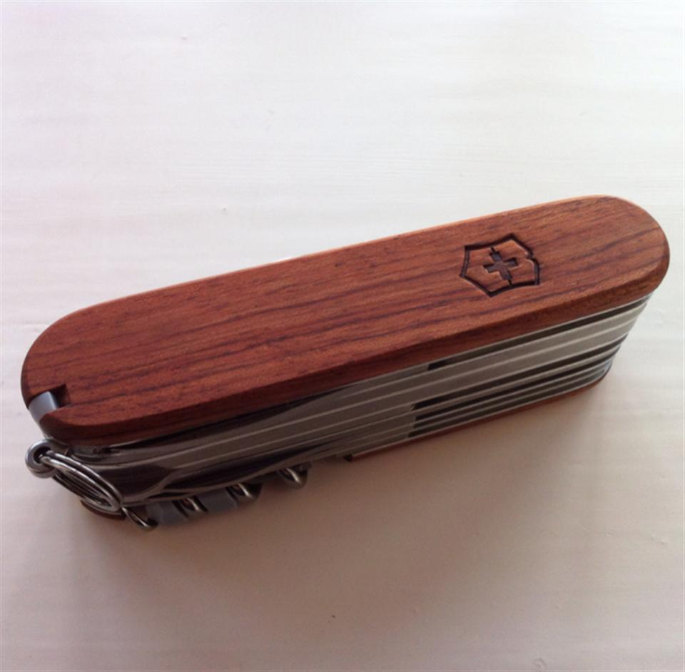 Swisschamp Hardwood Collected In Victorinox Swiss Army
