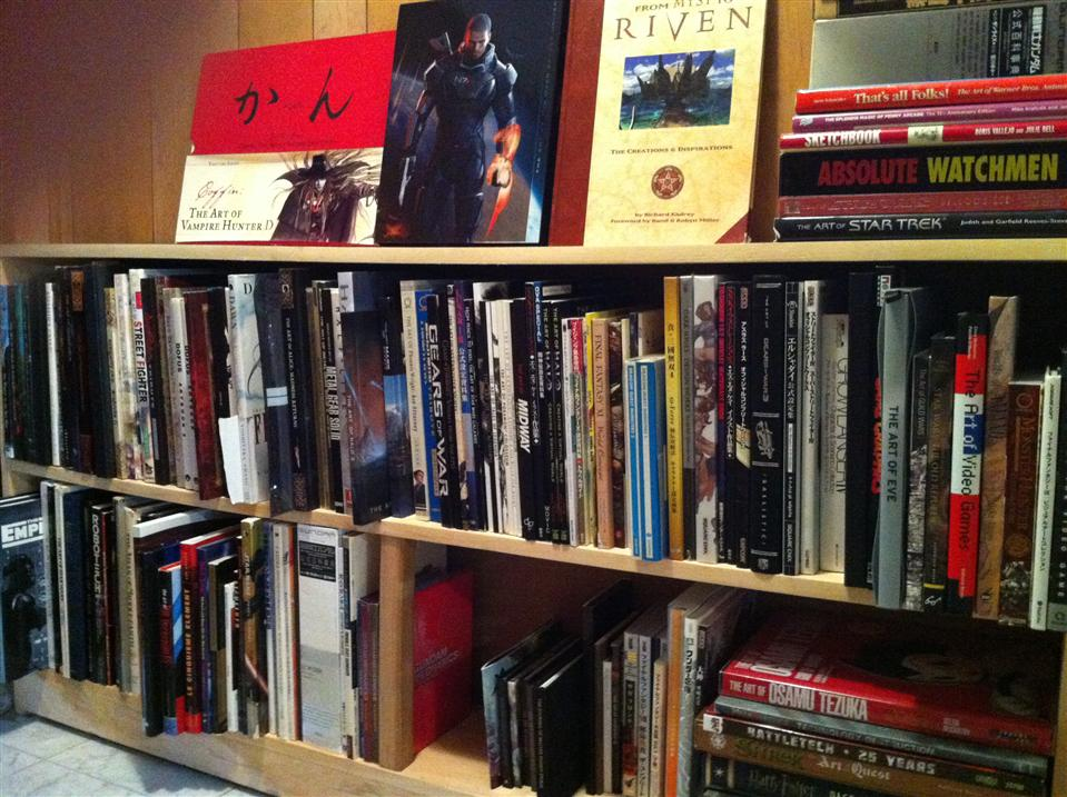 Video Game and Media Art Book Collection