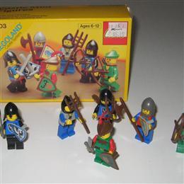 Castle Mini Figures, 6103