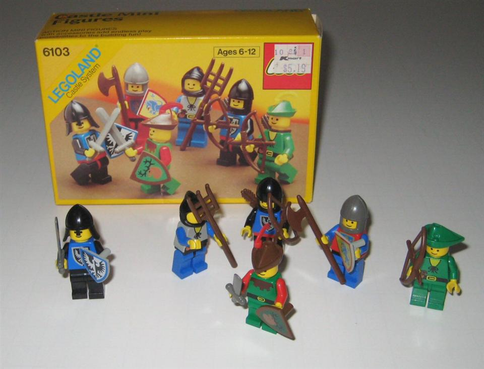 Castle Mini Figures, 6103