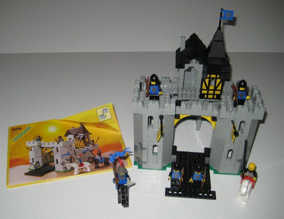 Black Falcons Fortress 6074 Lego Black Falcons Fortress 6074