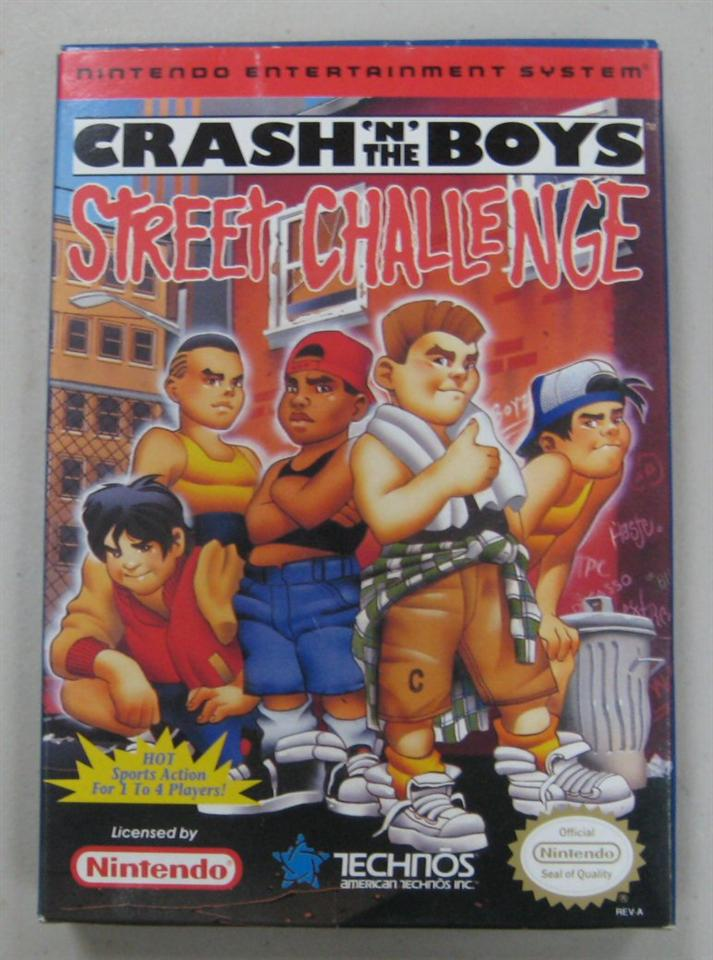 Crash 'N' the Boys Street Challenge