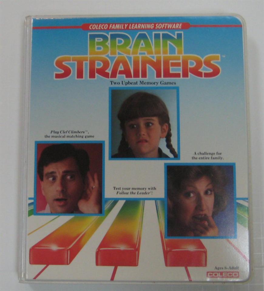Brain Strainers, Coleco, 1984 (Colecovision Brain Strainers