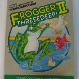 Frogger II: Threeedeep!, Parker Bros., 1984