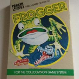 Frogger, Parker Bros., 1983