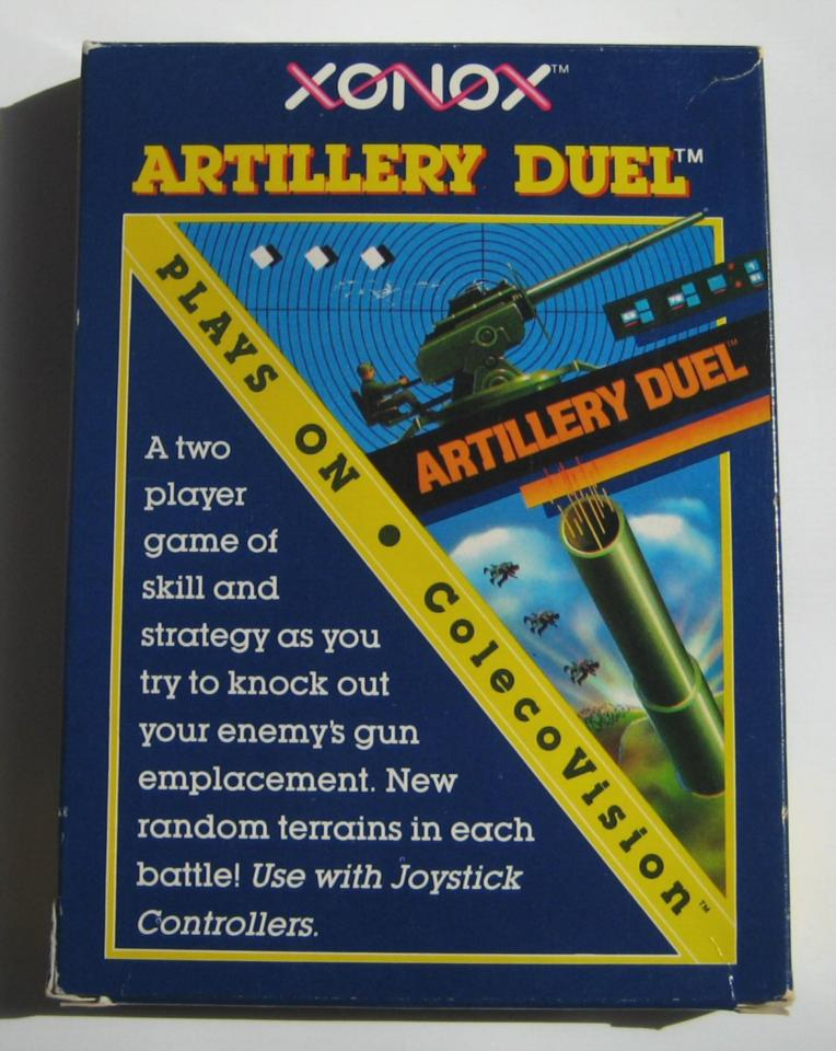 Artillery Duel, Xonox, 1983
