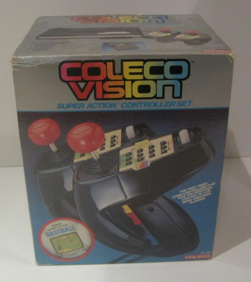 Colecovision Super Action Controller Set (Complete with box