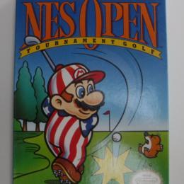 NES Open Tournament Golf, Nintendo, 1991