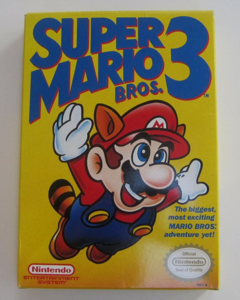 Super Mario Bros. 3, Nintendo, 1990 (Complete) collected ...