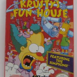Krusty's Fun House, Acclaim, 1992