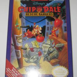 Chip N' Dale Rescue Rangers, Capcom, 1990