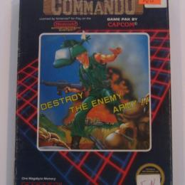 Commando, Capcom, 1986