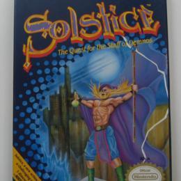 Solstice, CSG Imagesoft, 1990