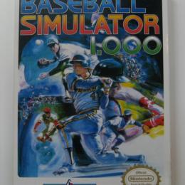 Baseball Simulator 1.000, Culture Brain, 1990